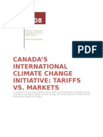 Canada's International Climate Change Initiative