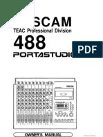 Tascam 488 Mk II Manual