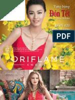 Catalogue My Pham Oriflame 2-2013
