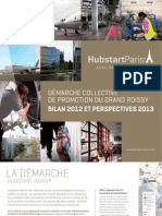 Hubstart Paris-Promotion Grand Roissy-Rapport Dactivites 2012