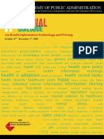 A National Dialogue on Health IT and Privacy
