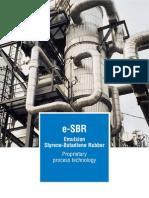 Polimeri Europa - E-SBR Flyer