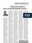 What Social Sector Needs to Learn from the Private Sector