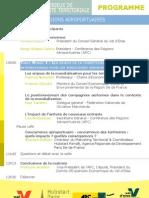 Programme Les Enjeux Attractivite Territoriale Pour Les Places Aeoportuaires 14 Fevrier 2013