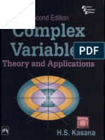 Schaums Outline Of Complex Variables 2ed Pdf