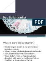 Euro Dollar market