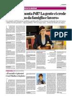 Intervista a Milena Santerini di Scelta Civica con Monti  per l'Italia