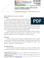 A INVISIBILIDADE DAS MULHERES NAS RELAÇÕES SOCIAIS - MITIFICAÇÃO DOS GÊNEROS - Cópia