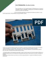 Modélisme ferroviaire à l'échelle HO. Fabriquer fenêtres et huisseries à l'échelle HO. Fabriquer Fenêtres et huisseries à l'échelle HO (1.) par Hervé Leclère