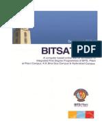 2013 BITSAT Brochure