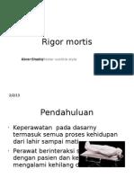 Rigor Mortis 1
