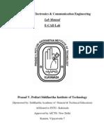 ECAD Lab Manual