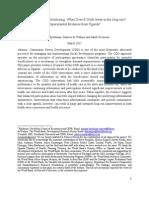 Bjorkman et. al. 2012  Information is Power