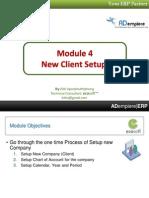 Adempiere Module 4 - New Client Setup.pdf