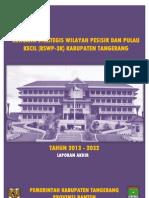 Laporan Akhir Rencana Strategis Wilayah Pesisir dan Pulau Kecil Kabupaten Tangerang 2013 - 2033