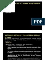 3 Materiales Metalicos Productos No Ferricos