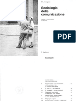 J. L. Aranguren, Sociologia della comunicazione