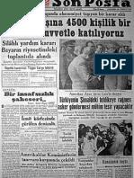 Unutulan Manşetler_1950-1955
