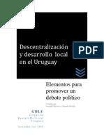 17 Descentralizacion y Desarrollo Local en Uruguay_GDLU
