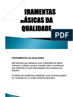 FERRAMENTAS BÁSICAS DA QUALIDADE