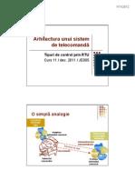 Sisteme de Telecomanda 1 - Curs 011 - Dec 2011 - Tipuri de Control Prin RTU