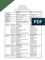 Planning Schedule SC