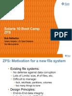 ZFS bootcamp