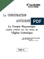 Delassus Henri - La conjuration antichrétienne Tome 3