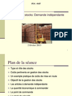 Gestion Des Stocks Demande Indpendante (1)
