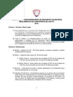 Reglamento de Salto FPDE 2013