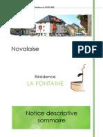 Notice Descriptif - La Fontaine 29-03