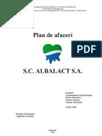 Plan de Afaceri Albalact