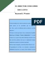 EL ROL DEL DIRECTOR COMO LÍDER EDUCATIVO