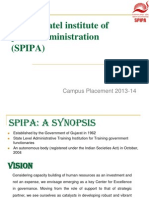 SPIPA PLACEMENT