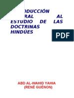 Rene Genon - Introducción general a las doctrinas hindues (1921)