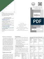DLSU-FEU MBA-JD Curriculum