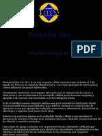 Productos Diez Lubricantes Especializados