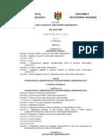 Codul cu privire la contravenţiile administrative