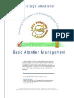 Basic Attention Management - Avatar (Star's Edge International)