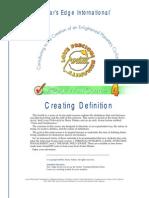 Creating Definition - Avatar (Star's Edge International)