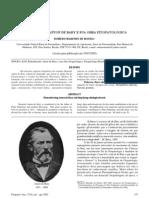 Relembrando Anton de Bary e sua obra fitopatológica