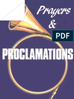 81229137 Prayers and Proclamations