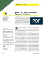 pet ct evaluation of pancreatic neoplasms