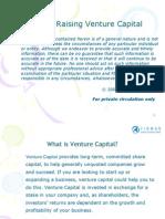 Raising Venture Capital