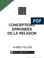 Conceptions Erronees de La Religion
