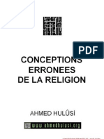 Conceptions Erronees de La Religion