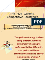Five Generic strategies