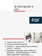 Semiologia Chirurgicala a Abdomenului