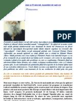 PROFEŢIILE PĂRINTELUI PAISIE ŞI PROIECTUL ANATOLIA DE SUD