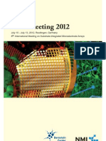 Multielectrode Array (MEA) proceedings 2012